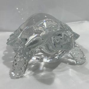 Crystal Turtle Figure